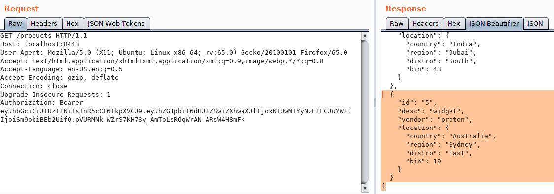 Postman+Burp Macros and Asymmetrical API Testing
